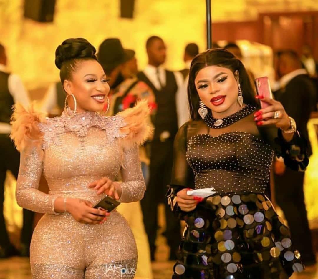 """Mad shape, fine skin, fine girl"" - Bobrisky hails Tonto Dikeh as he demands N3million from her suitors (Video)"