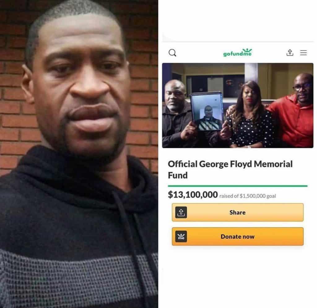 George Floyd's GoFundMe Breaks Donation Record