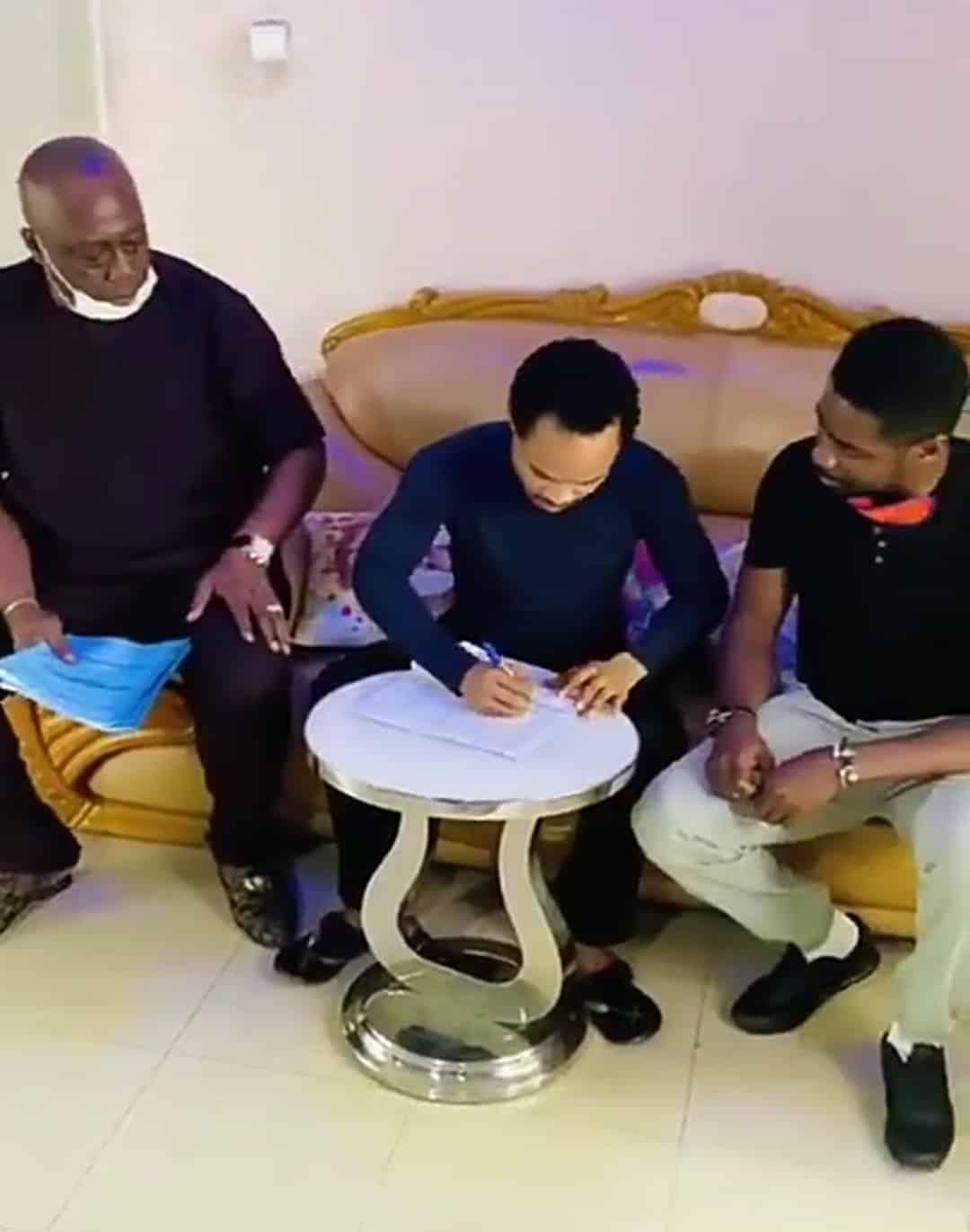 Liquid Metal Management Signs Prophet Odumeje As Brand Ambassador (Video)