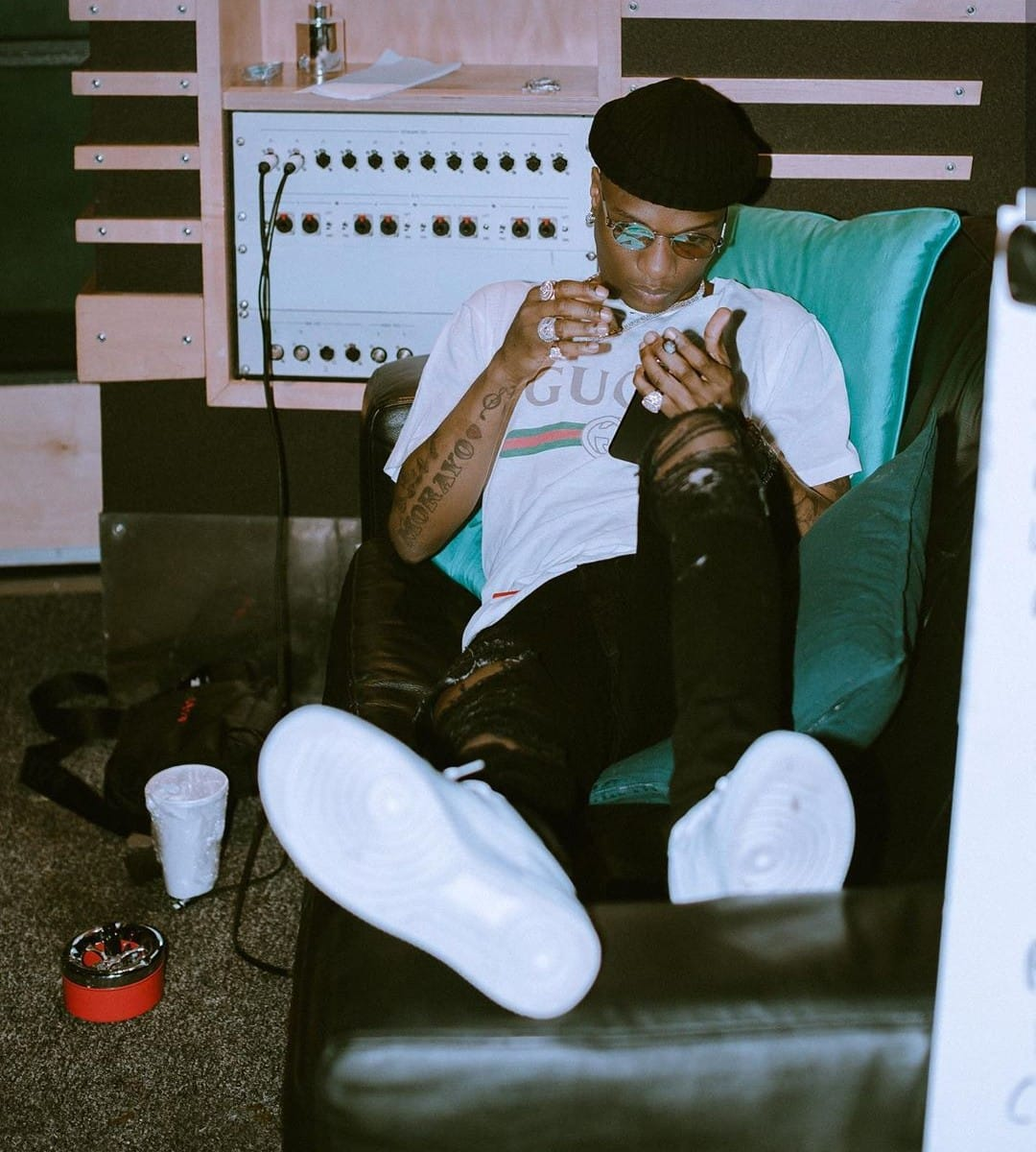 I haven't seen any pastor go into isolation centre to heal COVID-19 patient - Wizkid