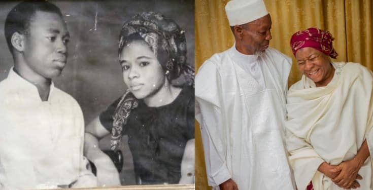 Golden Couple Celebrate 50th Wedding Anniversary With Beautiful Photos
