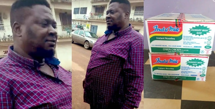 Man gets free supply of indomie for 6months after returning N1.8million