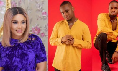 Iyabo Ojo celebrates son, Festus on his 21st birthday (photos/video)