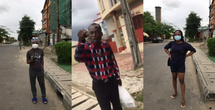 """Ladies allegedly attacked by a pastor over """"indecent"""" dressing in Lagos State (video)"""