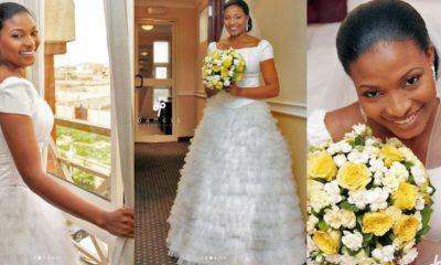 Lovely photos of late Ibidunni Ighodalo taken on her wedding day