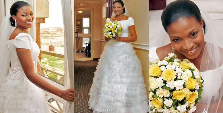 Lovely photos of late Ibidunni Ighodalo taken on her wedding day