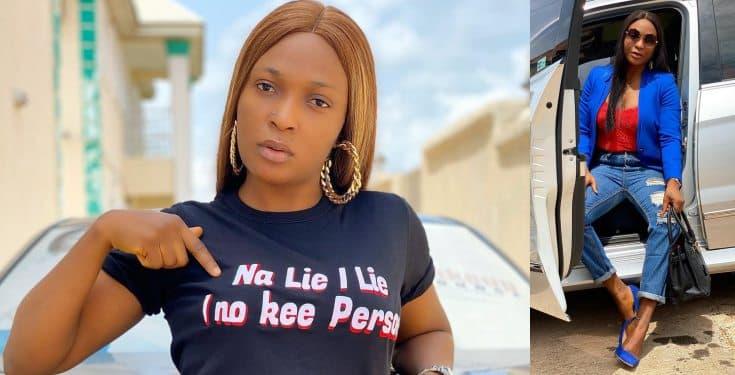 'Na lie I lie, I no kee person' - Blessing Okoro tells critics