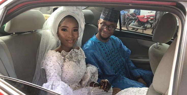 Nigerian couple marry after meeting on Twitter 18 months ago (photos)