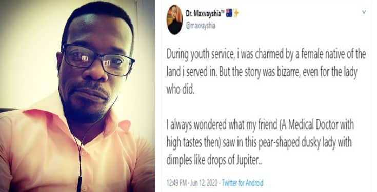 """Nigerian doctor narrates how he and his friend were """"charmed"""" by two girls during NYSC"""