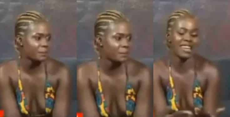 Prostitute brags about her 'job', reveals the amount she charges (video)