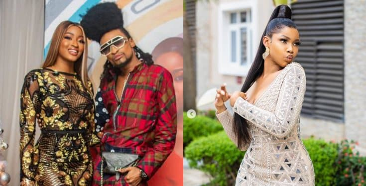 "Denrele Edun shades Tacha - ""Arrogance is the camouflage of insecurity"""
