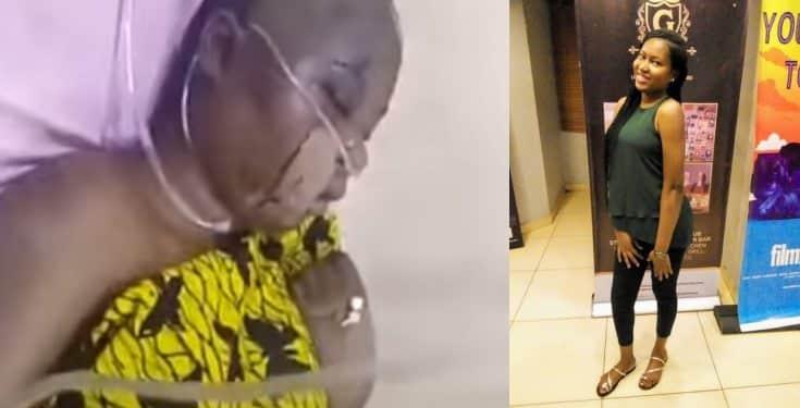 Video of late, Uwaila Omozuwa on her deathbed