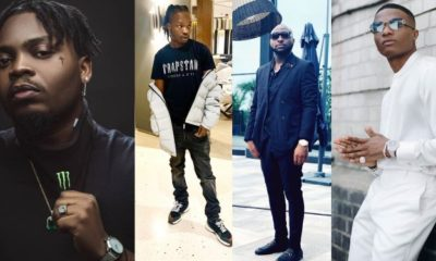 Wizkid, Olamide and Naira Marley Unfollow Davido On Instagram