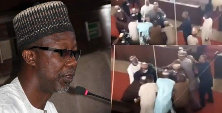 Kaduna lawmakers fight dirty