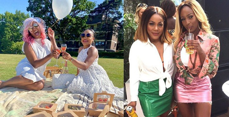 DJ Cuppy Celebrates Her Manager