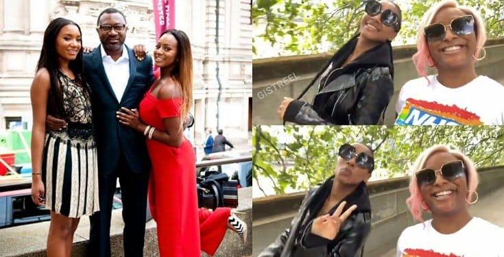 DJ Cuppy and Temi serve sister goals