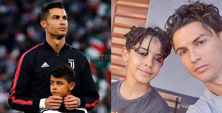 C.Ronaldo Celebrates His First Son