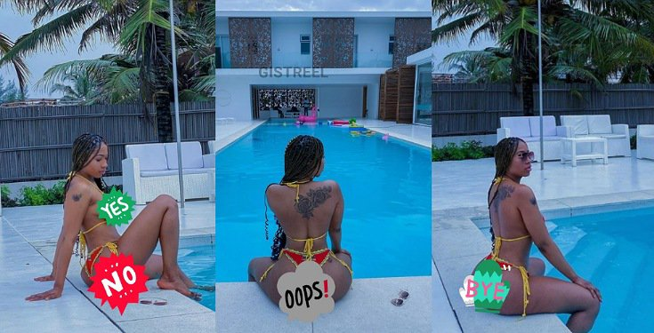 Mercy Eke's bikini photos