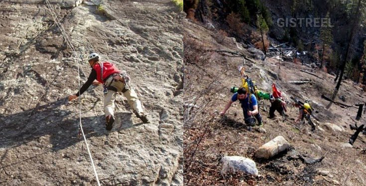 Hiker Dies After Falling Off A Mountain