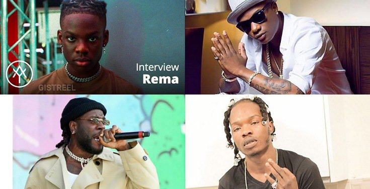 Rema chooses Burna Boy
