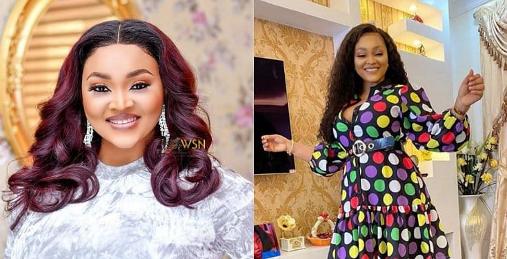 Mercy Aigbe Excited