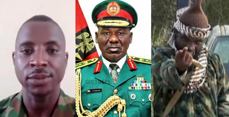 Soldier arrested for saying Burutai has failed