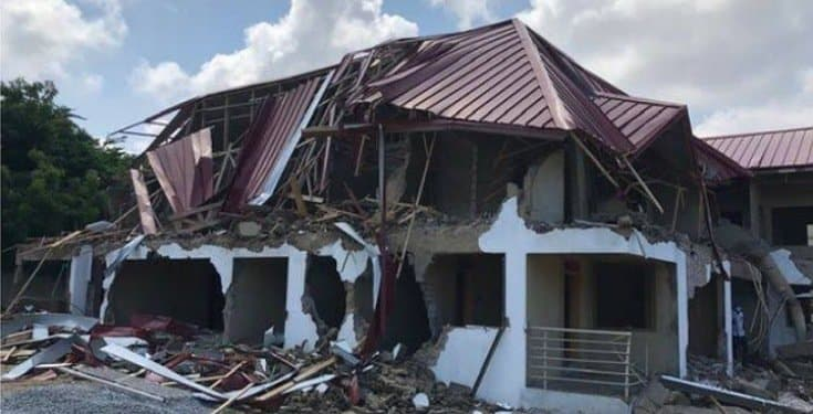 Persons involved in demolition of Nigerian embassy in Ghana arrested
