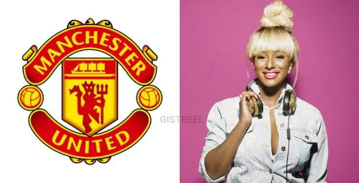 Manchester United Officially Welcomes DJ Cuppy