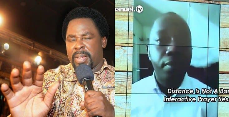 Medical Doctor Healed Of Covid-19 After TB Joshua Prayed For Him