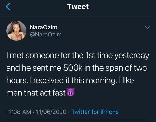 Lady narrates how someone she met for the first time and he sent her 500k, Lady narrates how someone she met for the first time and he sent her 500k, Latest Nigeria News, Daily Devotionals & Celebrity Gossips - Chidispalace
