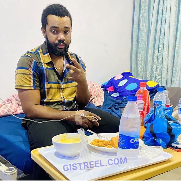 Williams Uchemba thanks God for life