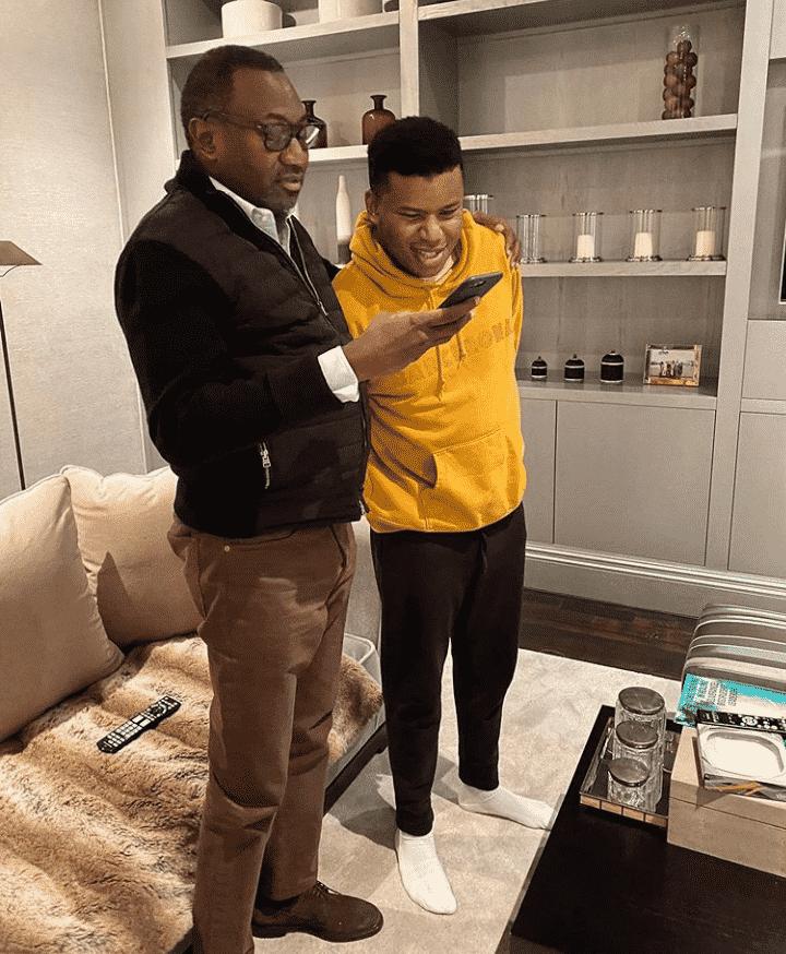 Otedola celebrates his son's birthday