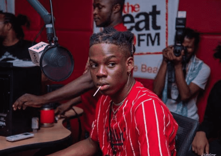 Rema reveals how to make a Nigerian police officer angry