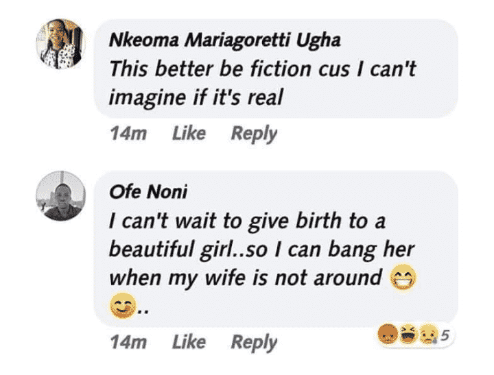 Man says he can't wait to bang his daughter
