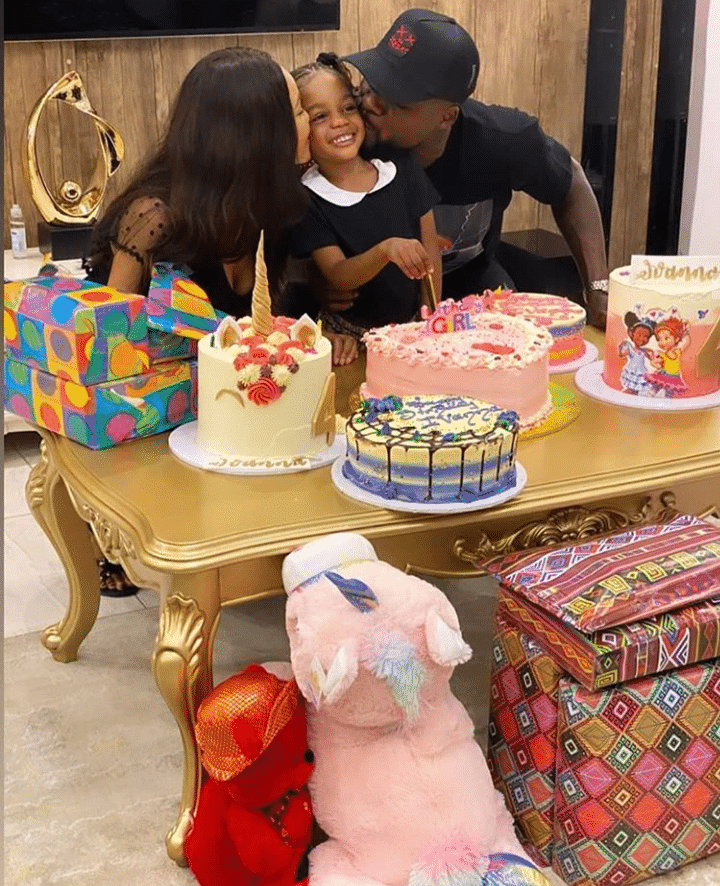 Ex-couple celebrate daughter's birthday