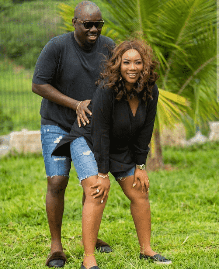 Obi Cubana and wife celebrate