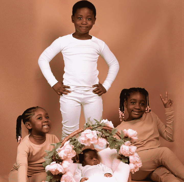 The Okojies profess undying love for Mercy Johnson