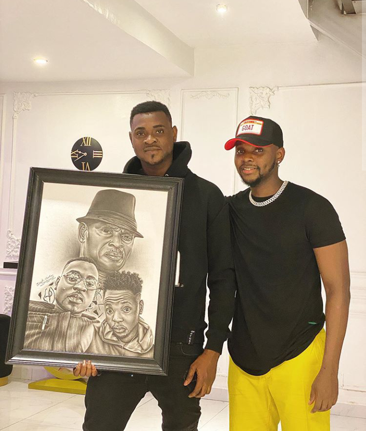 Kizz Daniel Remembers His Late Father