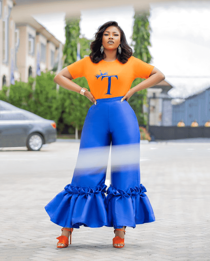 Tacha gushes over herself