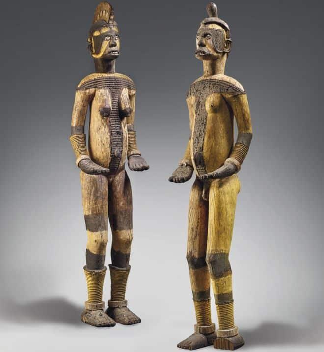 Igbo statues sold