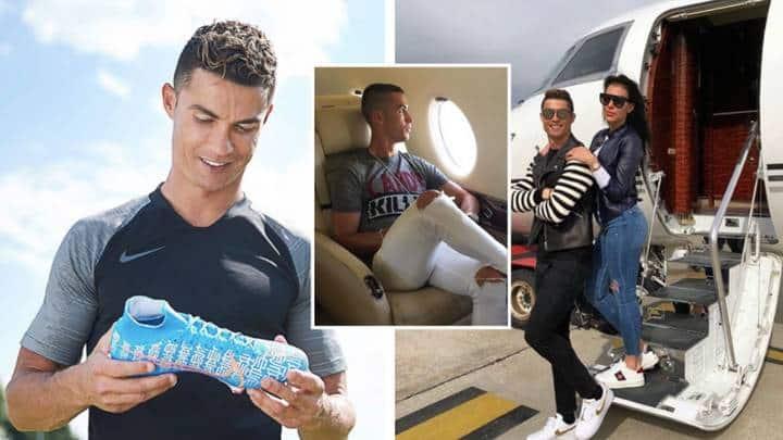 Cristiano Ronaldo becomes football's first $1 billion footballer