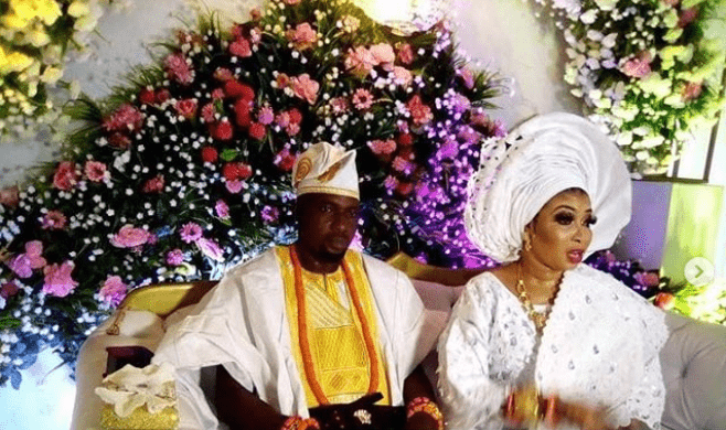 Lizzy Anjorin wedding