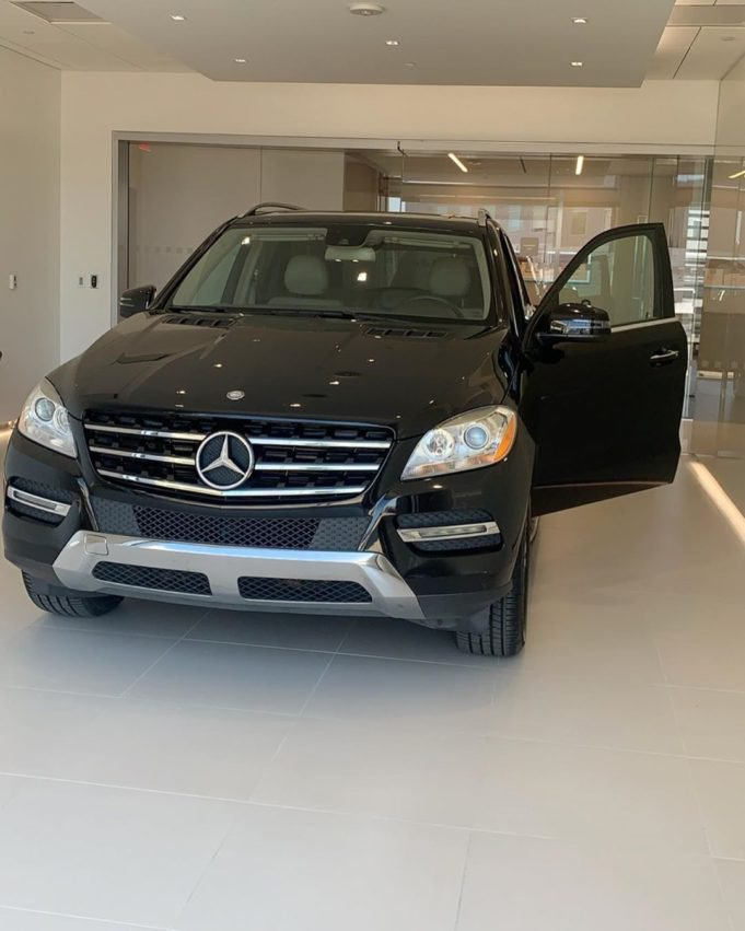 Man buys his wife Mercedes Benz