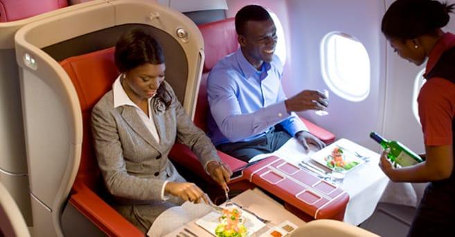 Food banned on flights