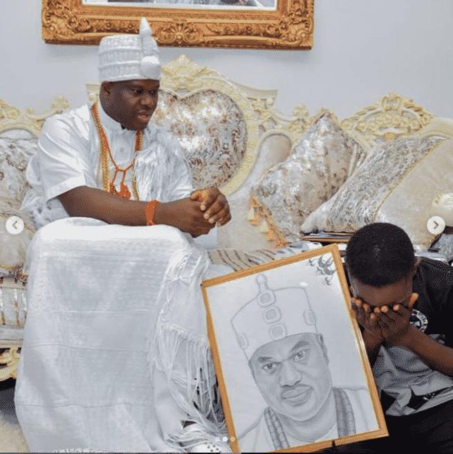 Ooni of Ife adopts boy