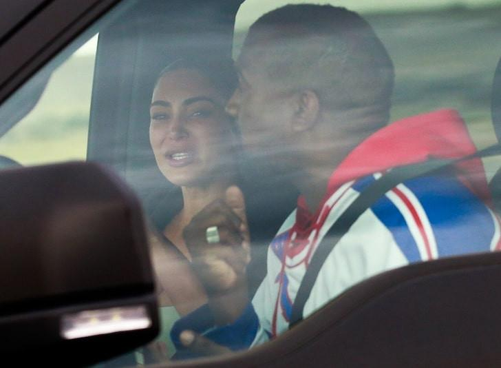 Kim and Kanye marriage crisis
