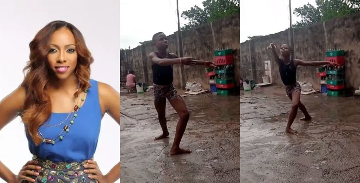 Fade Ogunro offers to help young ballerina