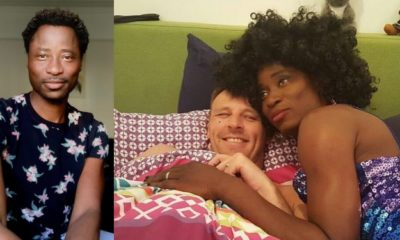 Gay rights activist, Bisi Alimi, shares loved-up photo of himself in bed with his husband
