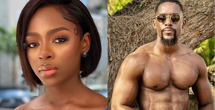 Nigerians dig up Diane's romantic message to Mawuli Gavor
