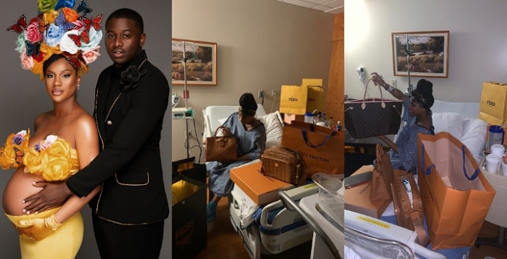 Man Gifts Lover Expensive Designer Bags For Giving Birth To His Child